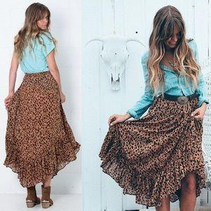 Saphari Kerchief Skirt